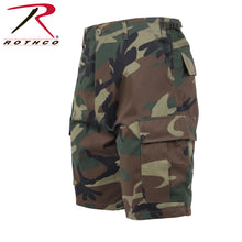 Load image into Gallery viewer, Rothco_BDU_Shorts_Woodland_Camo_RVRKVCV4G134.jpg