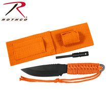 Load image into Gallery viewer, Rothco_paracord_knife_orange_S3J7IT07XMIZ.jpg