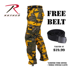 Load image into Gallery viewer, Rotho_Yellow_Camo_BDU_free_belt_SA1T8GPONVM6.jpg