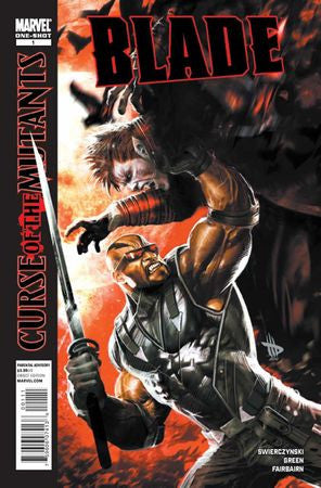 Blade Curse of the Mutants (2010) #1
