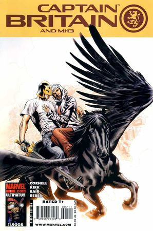 Captain Britain and MI 13 (2008) #7