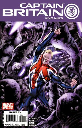 Captain Britain and MI 13 (2008) #8