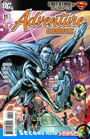 Adventure Comics (2009 2nd Series) #11 Mark Buckingham Cover