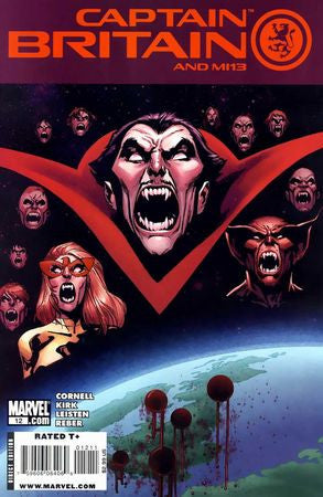 Captain Britain and MI 13 (2008) #12