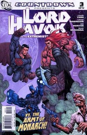 Countdown Lord Havok and the Extremists (2007) #3