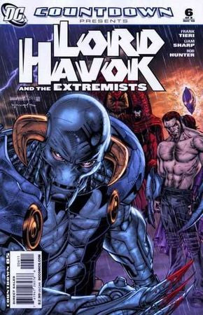 Countdown Lord Havok and the Extremists (2007) #6