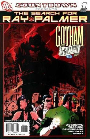 Countdown Search for Ray Palmer Gotham by Gaslight #1