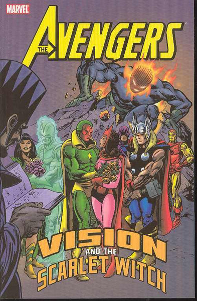 Avengers Vision and the Scarlet Witch TPB