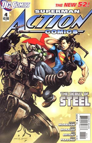 Action Comics (2011 2nd Series) #4