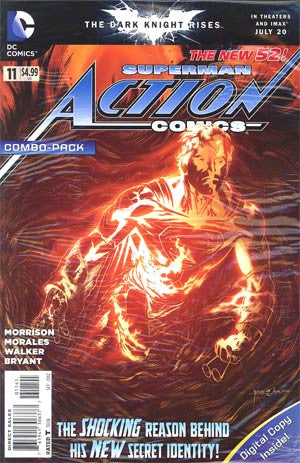 Action Comics (2011 2nd Series) #11 Combo Pack