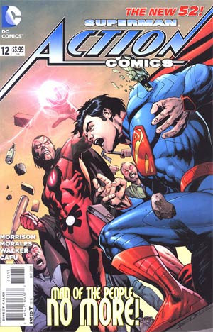 Action Comics (2011 2nd Series) #12
