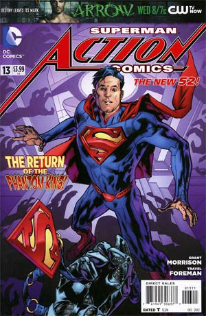 Action Comics (2011 2nd Series) #13