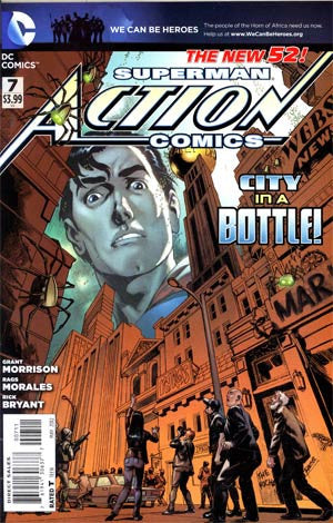 Action Comics (2011 2nd Series) #7