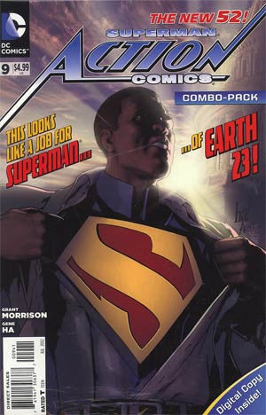 Action Comics (2011 2nd Series) #9 Combo Pack