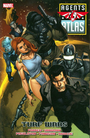 Agents of Atlas Turf Wars TPB (2010)