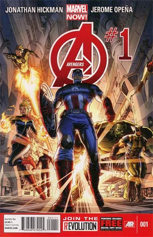 Avengers (2012 5th Series) #1