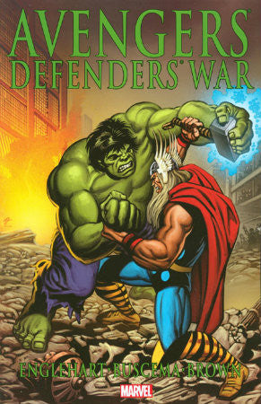 Avengers - Defenders War TPB (2011 2nd Edition)