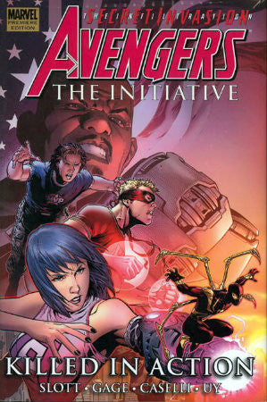 Avengers The Initiative Vol 2 Killed in Action HC (2007-2010 Marvel)