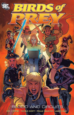 Birds of Prey Blood and Circuits TPB (2007)