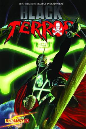 Black Terror (2008 Dynamite Entertainment) #10 Ross Cover