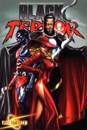 Black Terror (2008 Dynamite Entertainment) #1 Land Cover