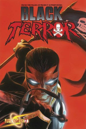 Black Terror (2008 Dynamite Entertainment) #1 Ross Cover