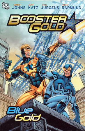 Booster Gold Vol 2 Blue and Gold HC (2008 DC)