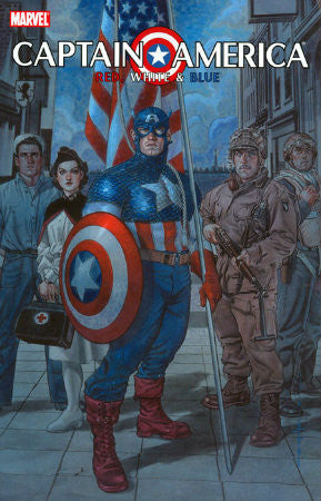 Captain America Red, White, and Blue TPB (2007)