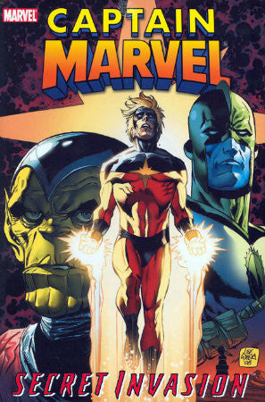 Secret Invasion Captain Marvel TPB (2009)