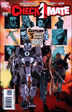 Checkmate (2006 DC 2nd Series) #25