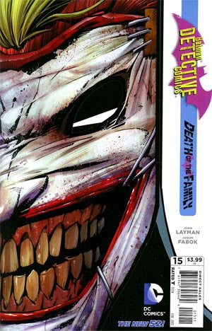 Detective Comics (2011 2nd Series) #15 Death of the Family