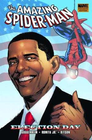 Amazing Spider-Man Election Day HC (2009) DM Edition