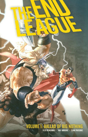 End League Vol 2 Weathered Statues TPB (2008-2010 Dark Horse)