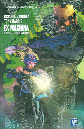 Ex Machina Vol 4 HC (2008-2011 Deluxe Edition)