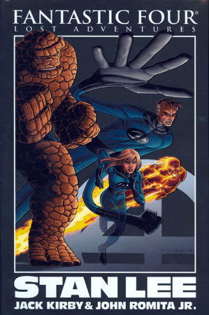 Fantastic Four Lost Adventures HC (2008) Romita Jr Cover