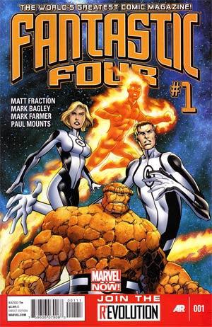 Fantastic Four (2012 4th Series) #1