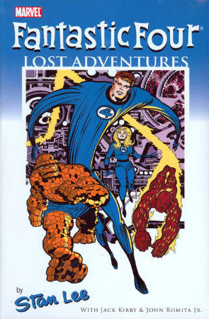 Fantastic Four Lost Adventures HC (2008) Kirby Cover