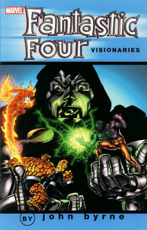Fantastic Four Visionaries John Byrne Vol 4 TPB (2001 1st Edition)