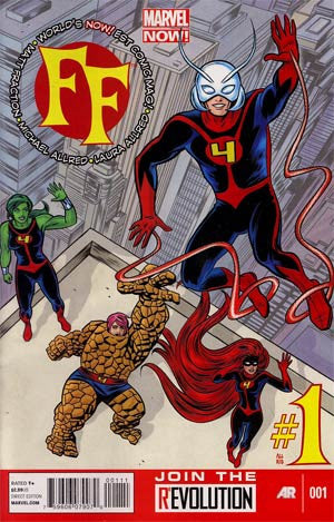 FF (2012 2nd Series) #1