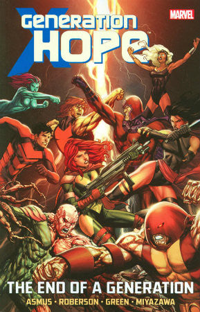 Generation Hope The End of a Generation TPB (2012 Marvel)