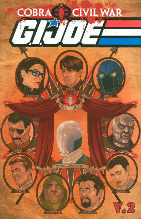 GI Joe V2 Vol 2 Cobra Civil War: Part 2 TPB (2011 IDW)