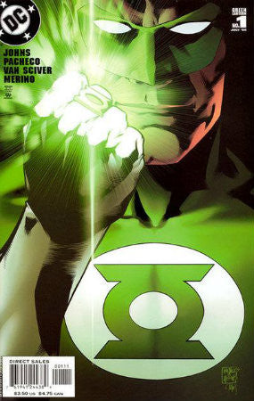 Green Lantern (2005-2011 3rd Series) #1 Pacheco Cover