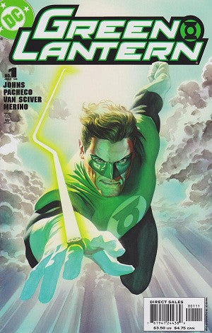 Green Lantern (2005-2011 3rd Series) #1 Alex Ross Cover