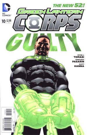Green Lantern Corps (2011 2nd Series) #10