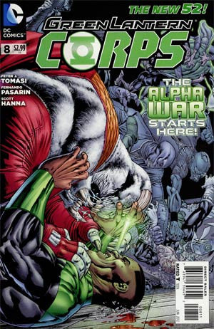 Green Lantern Corps (2011 2nd Series) #8