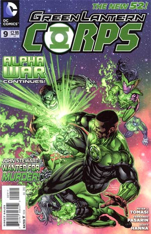 Green Lantern Corps (2011 2nd Series) #9