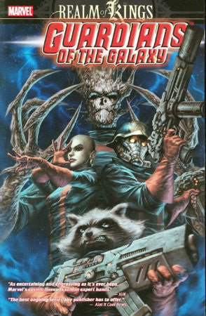 Guardians of the Galaxy Vol 4 Realm of Kings TPB (2009-2010 Marvel)