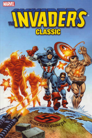 Invaders Classic Vol 1 TPB (2007-2010 Marvel)