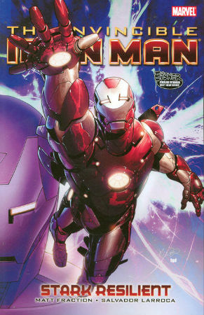 Invincible Iron Man Vol 5 Resilient Book 1 TPB (2009)