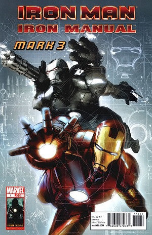 Iron Man Iron Manual Mark 3 (2010) #1